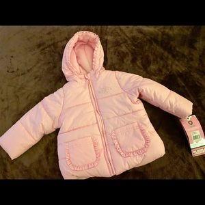 Jackets & Blazers - Pink winter baby jackets💝
